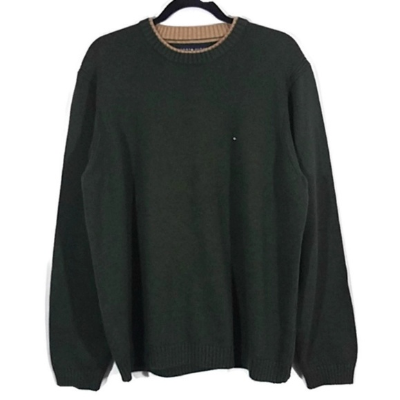 Tommy Hilfiger Other - Tommy Hilfiger Green Heavyweight Pullover Sweater